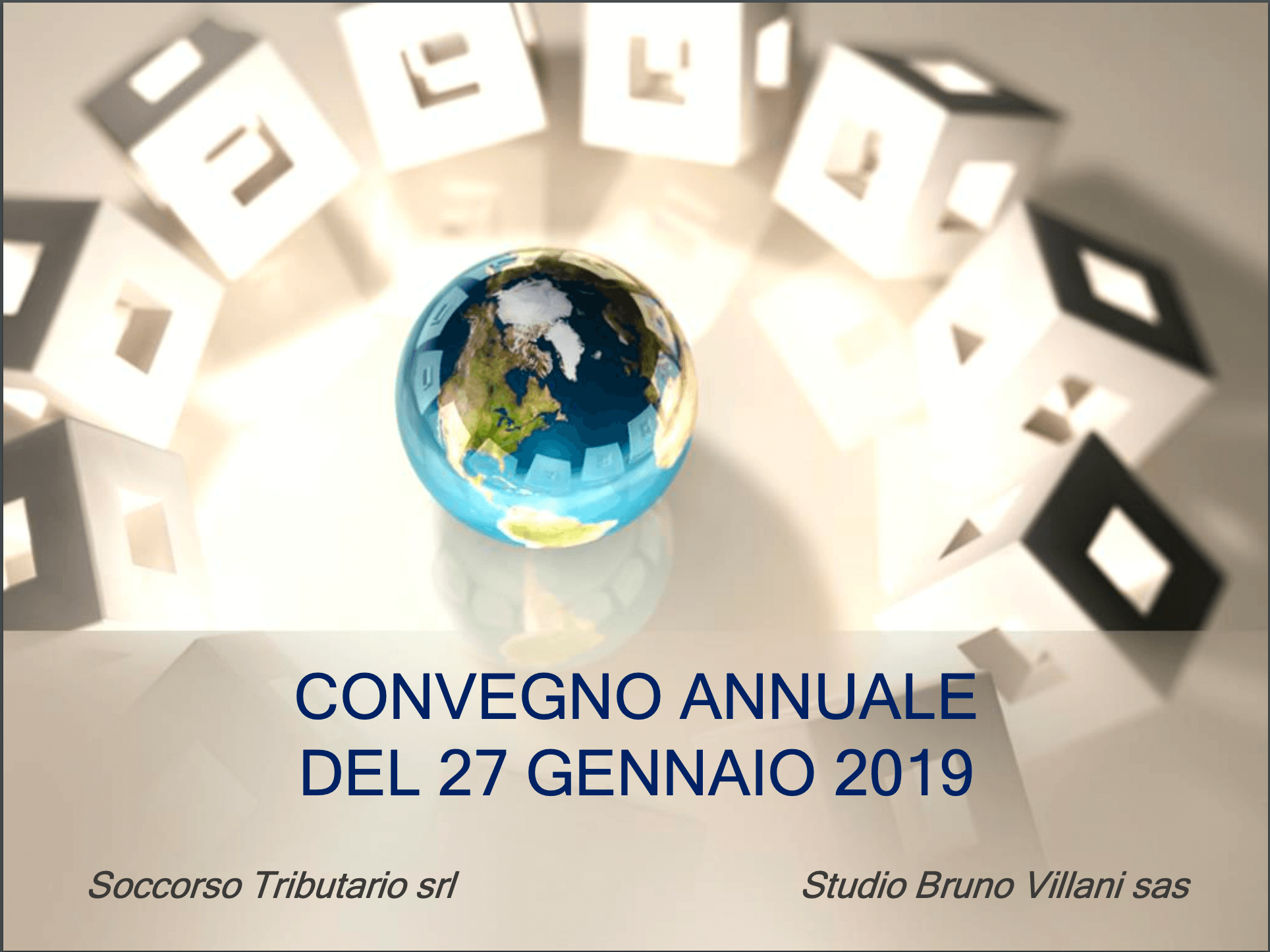 CONVEGNO 27 GENNAIO 2019